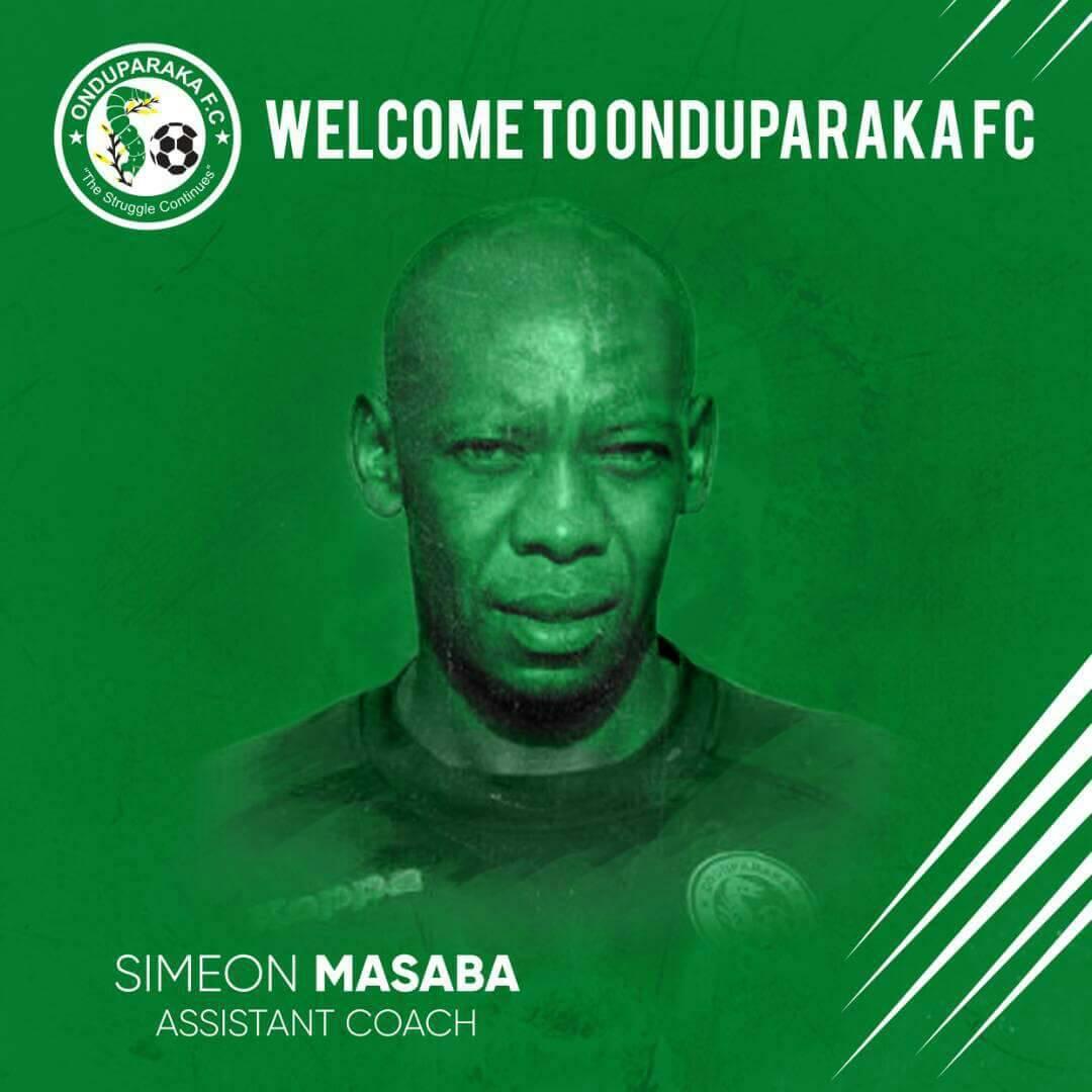 Masaba joins Ondu as coach