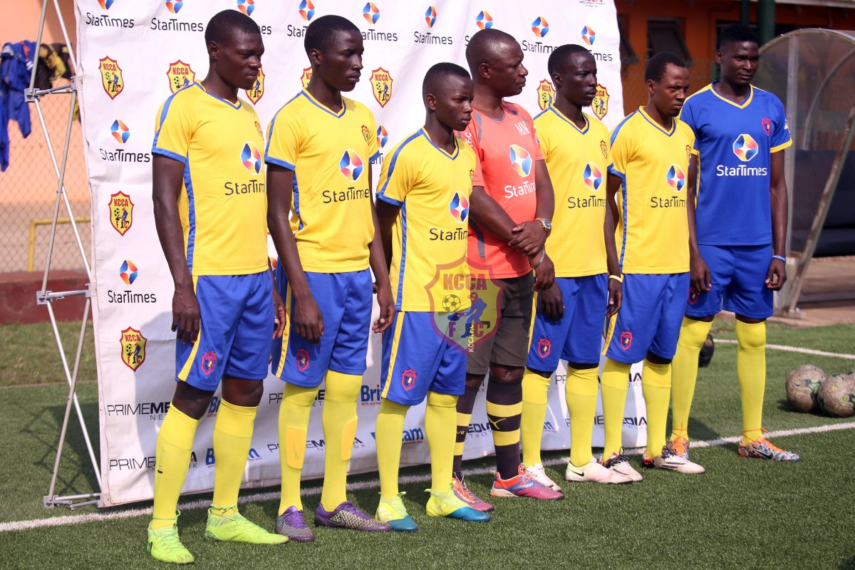 KCCA unveil four new players