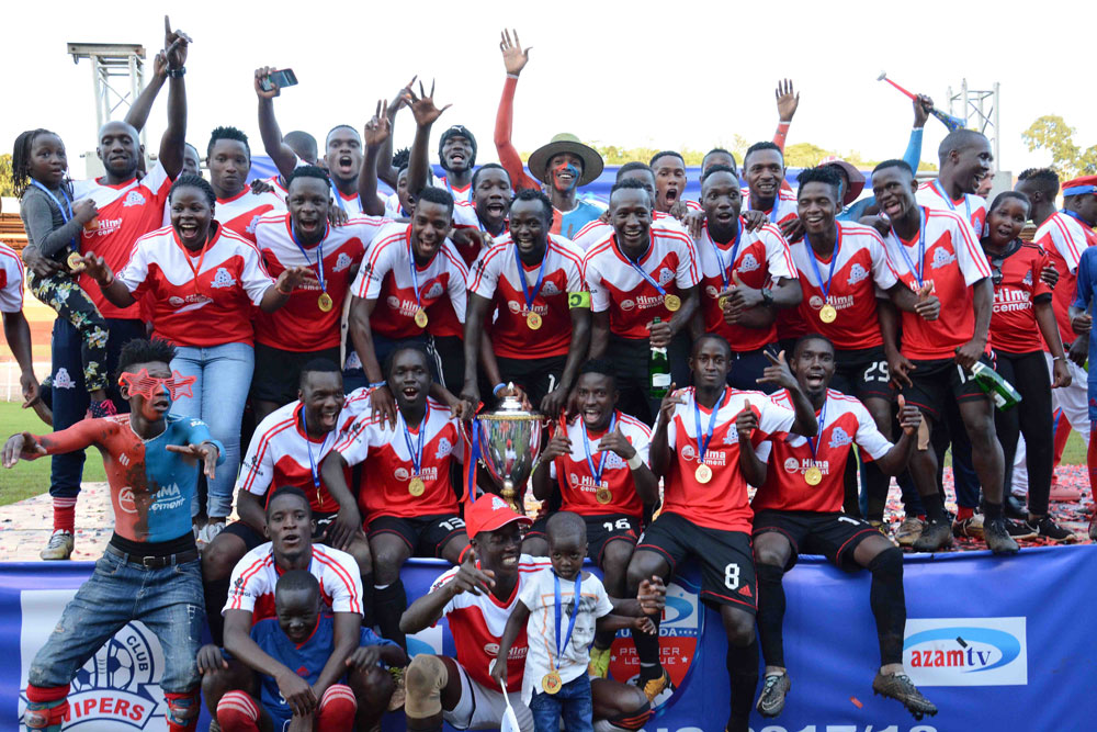 AUPL winners Vipers confirm Trophy Parade