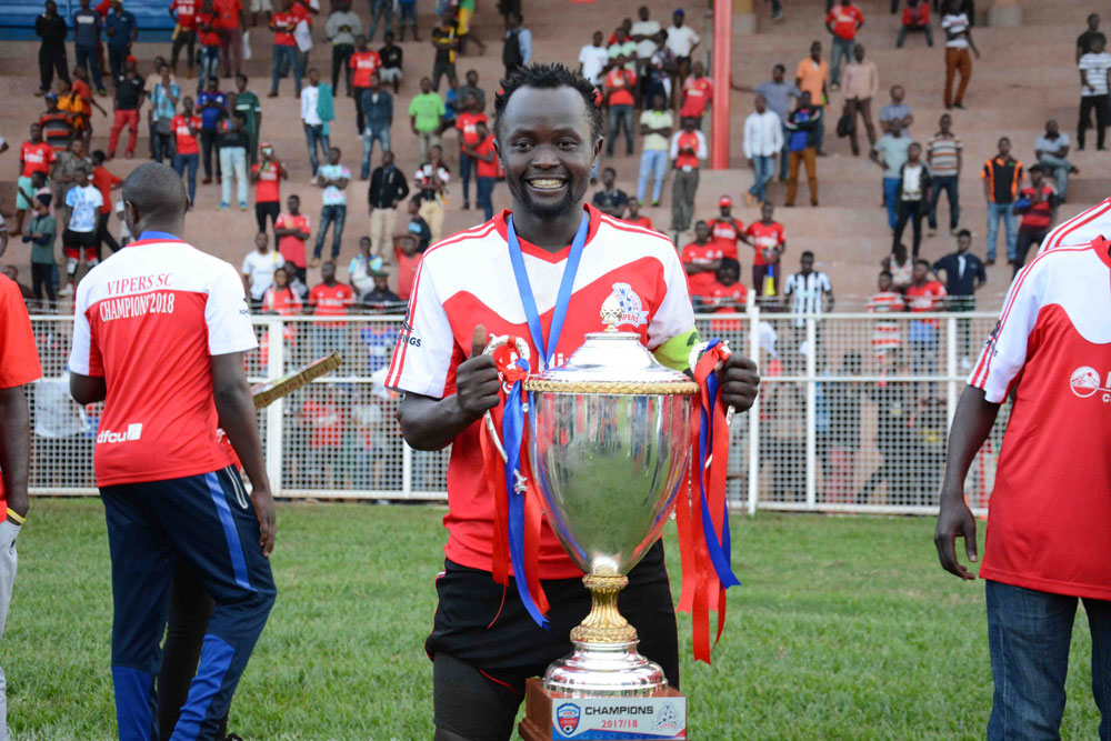 Vipers are Ugandan champions