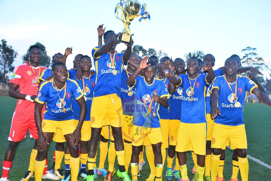 KCCA win Phillip Omondi Invitational Tournament